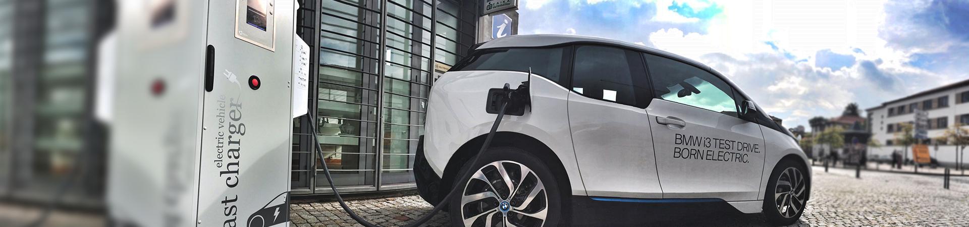 Carregador de Veiculos Electricos BMW
